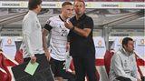 David Raum: Es ging zuletzt ziemlich schnell nach oben für den 23-jährigen Außenverteidiger. Erst der Aufstieg mitGreuther Fürth, dann der Wechsel zur TSG 1899 Hoffenheim, mit der U-21 wurde er Europameister und danach folgte die Teilnahme am olympischen Fußballturnier und jetzt das Debüt für die Nationalelf.