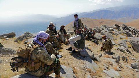 Anti-Taliban-Aufstandskräfte der afghanischen Widerstandsbewegung