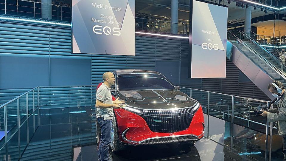 Mercedes Maybach Concept EQS IAA 2021