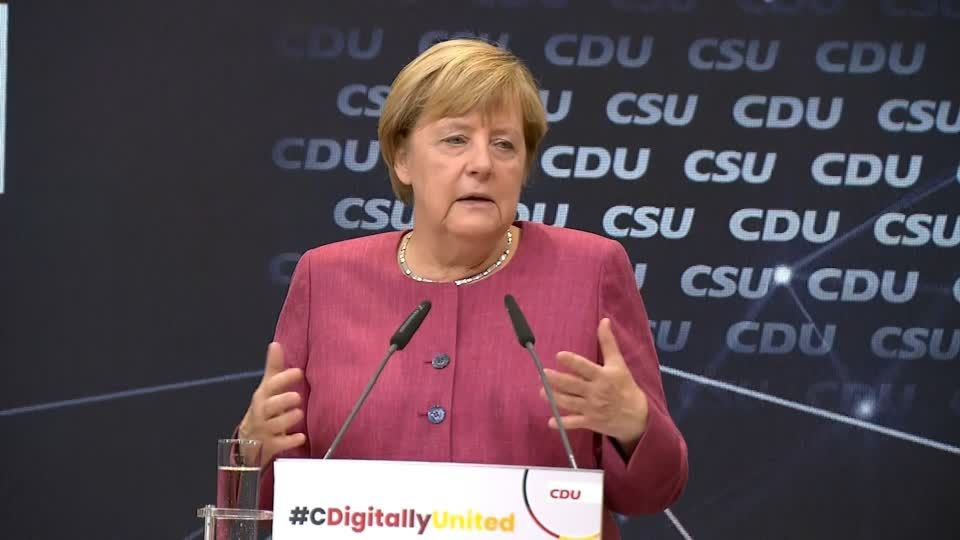 Trend verpennt: Merkel, die Digitalisierungs-Schnecke: 16 Jahre lang keinen Meter vorangekommen