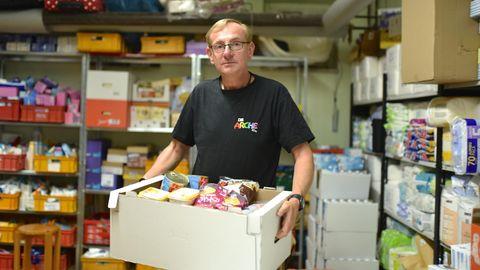 Bernd Siggelkow hat die Hilfseinrichtung gegründet und betreibt mittlerweile 27 Standorte in Deutschland