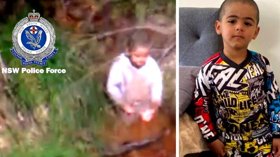 Nach drei Tagen allein im Busch: Polizei findet verschwundenes Kleinkind