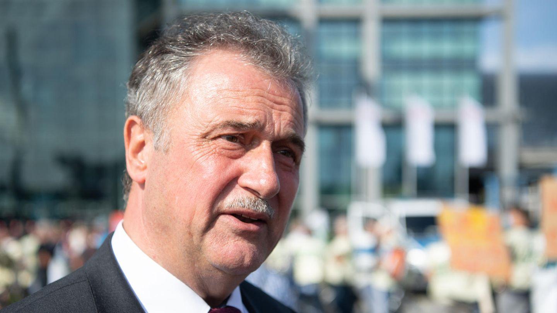 Der Bundesvorsitzende der Gewerkschaft der Lokführer (GDL), Claus Weselsky