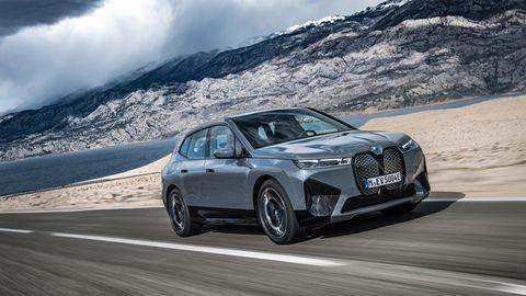 BMW IX Das neueste E-Modell des Herstellers hat nichts mehr mit dem i3 zu tun: doppeltes Gewicht, bullige Front und eine Riesen-Niere