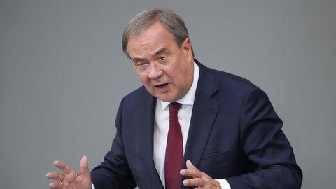 Armin Laschet (CDU) spricht im Deutschen Bundestag