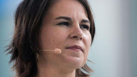 Hauptziel der Desinformationskampagnen: Annalena Baerbock, hier auf einer Wahlkampfveranstaltung in Gelsenkirchen