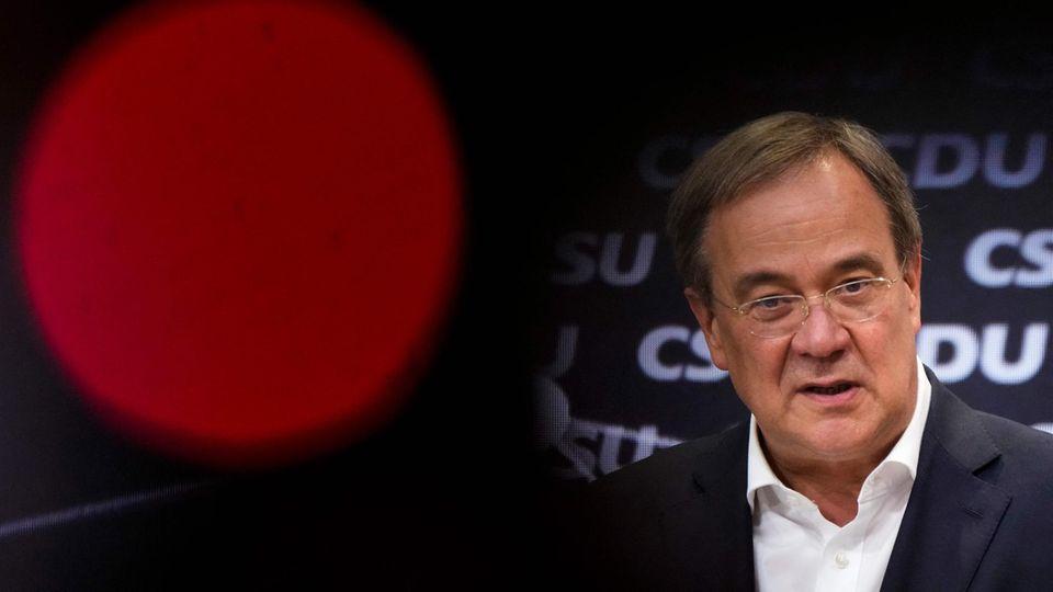 Düstere Umfragewerte für ihn und seine Partei: Unionskanzlerkandidat und CDU-Chef Armin Laschet