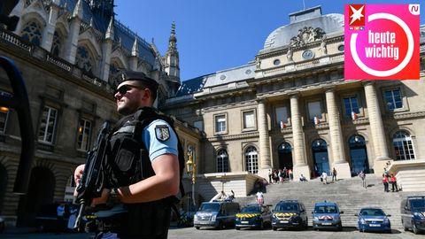 Der Bataclan-Prozess beginnt im Pariser Justizpalast unter höchsten Sicherheitsvorkehrungen