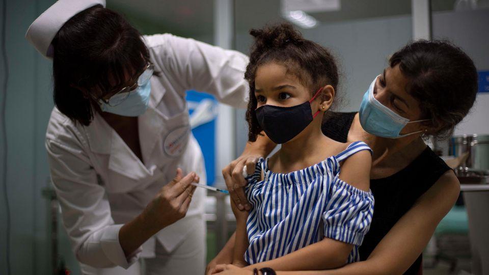 Coronavirus: Kuba impft jetzt 2-Jährige gegen Covid-19