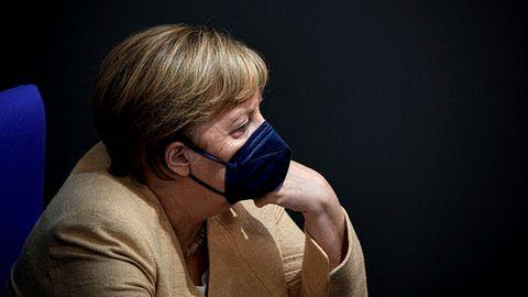 Angela Merkel hat ihre wohl letzte Rede im Bundestag genutzt, um für Armin Laschet in die Bresche zu springen