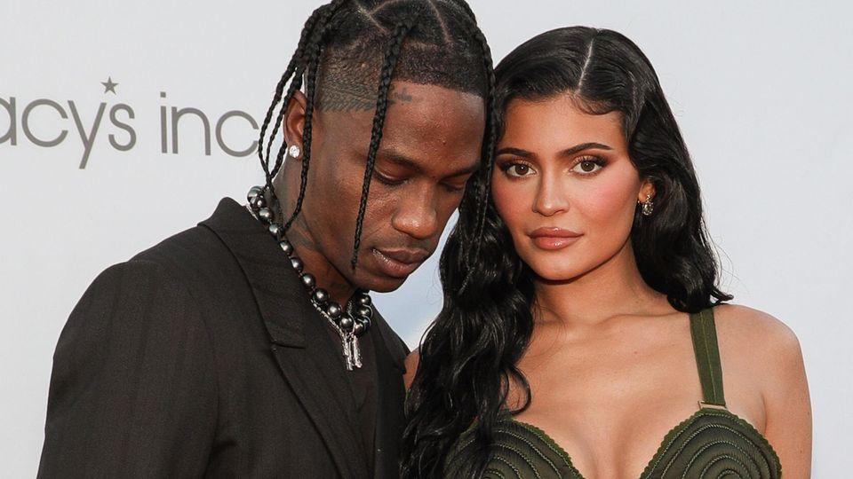 Model Kylie Jenner und Rapper Travis Scott.