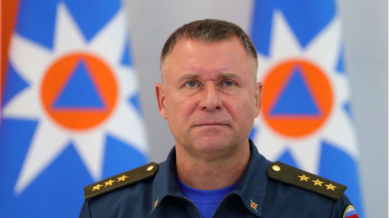 Russlands Zivilschutzminister Jewgeni Sinitschew