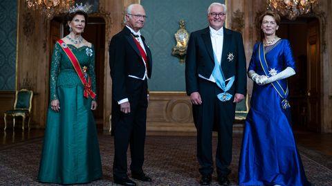 Bundespräsident Frank Walter Steinmeier in Schweden
