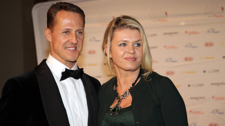 Corinna und Michael Schumacher im Jahr 2012