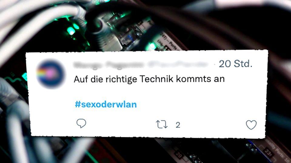 """Auf Twitter geht zweideutiger Hashtag viral - """"Bist du schon drin?"""""""