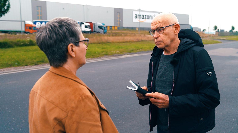 Günter Wallraff und sein Reporterteam haben die Arbeitsbedingungen bei Amazon recherchiert