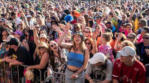 Zero Covid Delta Australien Neuseeland: Menschen feiern beim Wildfoods Festival in Hokitika