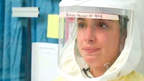 US-Krankenschwestern senden emotionalen Hilferuf von Intensivstationen