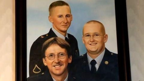 Joe Johnson kämpfte ebenso wie seine Söhne Josh und Justin Johnson im Krieg nach 9/11.