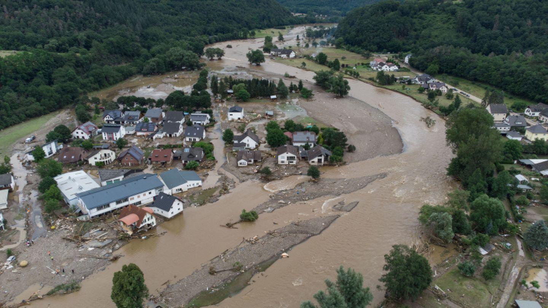 Zerstörung an der Ahr in Rheinland-Pfalz