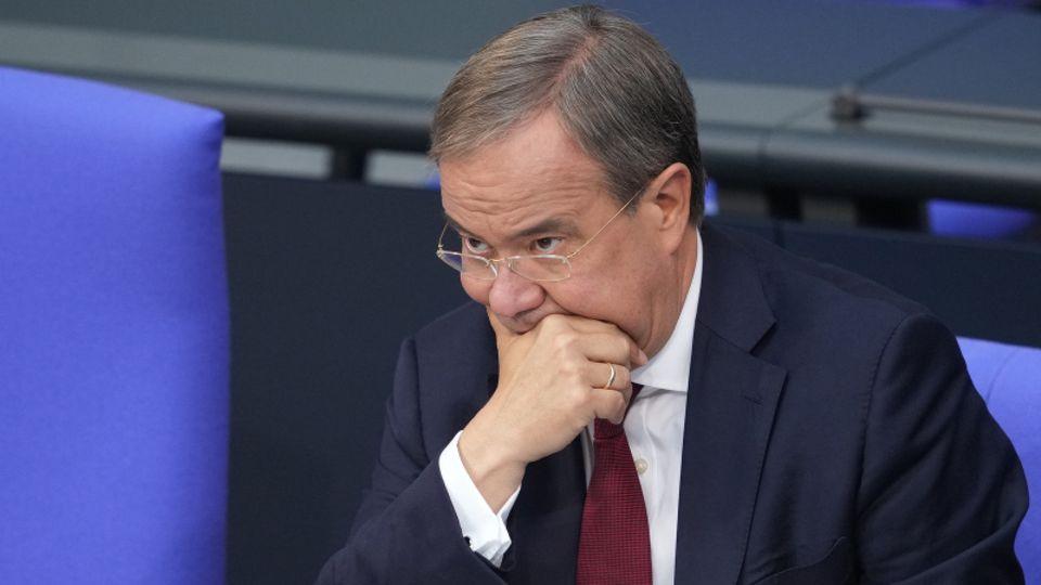 Für ihn sieht es gerade nicht gut aus: CDU-Kanzlerkandidat Armin Laschet