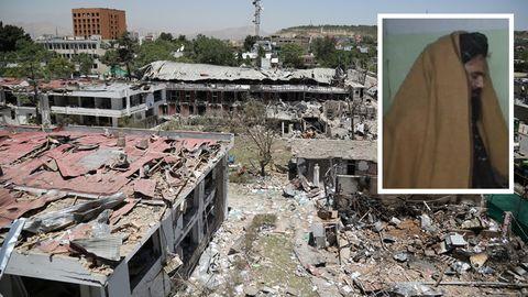Afghanistan: Zerstörte Gebäude nach dem Anschlag auf die deutsche Botschaft 2017 in Kabul