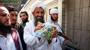 """Der Kinderfilm """"Kurt blir grusom"""" (Kurt wird grausam) wird von einem Taliban-Mitglied grausam zerstört"""
