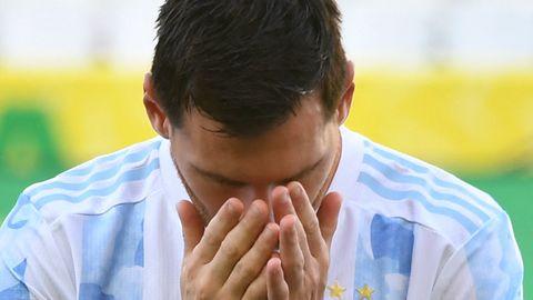 """""""Papa, Du bist jetzt Champion"""": Lionel Messi erhielt sogar viel Lobvon seinen Kindern"""