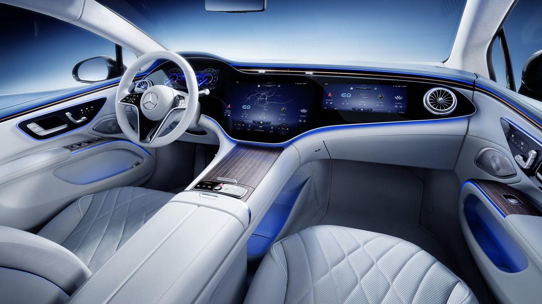 Bildschirm ohne Ende - derMBUX Hyperscreen von Mercedes-