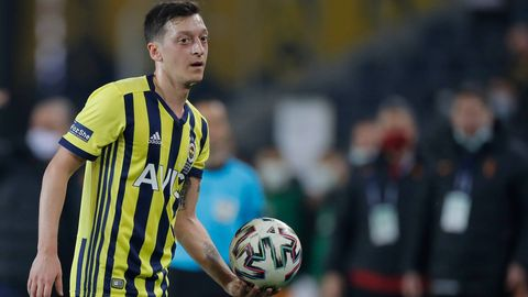 Mesut Özil Fenerbahce Istanbul