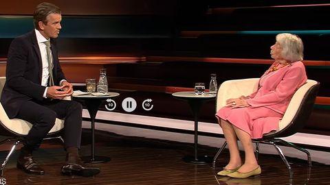 Markus Lanz interviewt die Holocaust-Überlebende Margot Friedländer