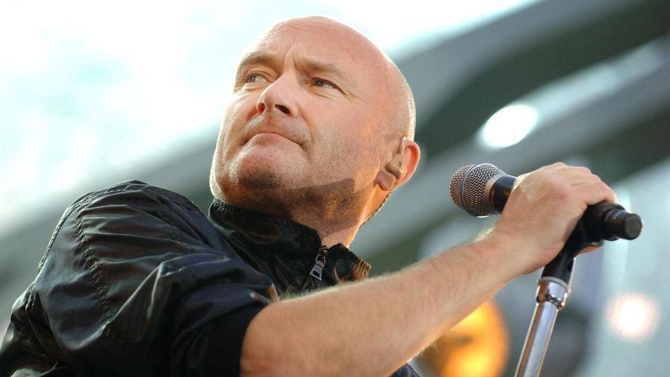 Phil Collins ist kurz vor der Tour gesundheitlich angeschlagen