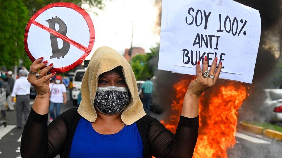 Bitcoin als Zahlungsmittel: In El Salvador sind viele noch skeptisch