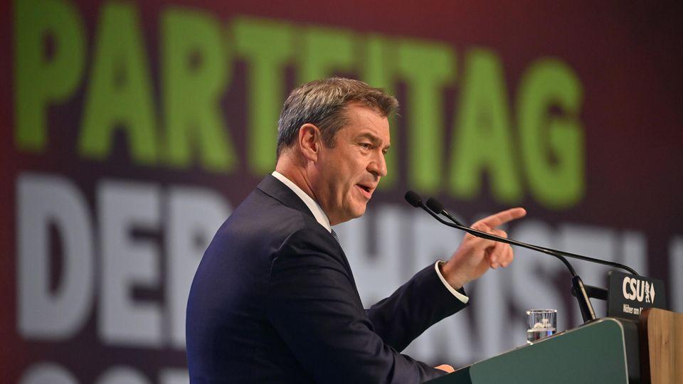 CSU-Parteitag Söder