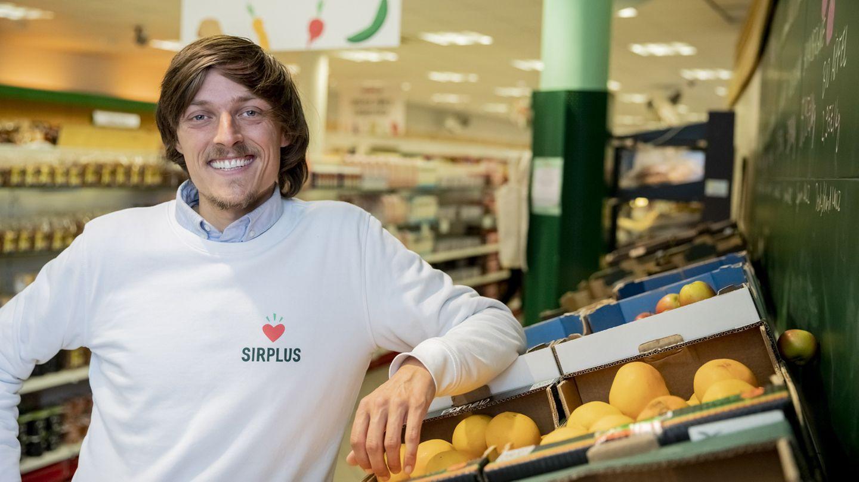 Sirplus-Gründer Raphael Fellmer