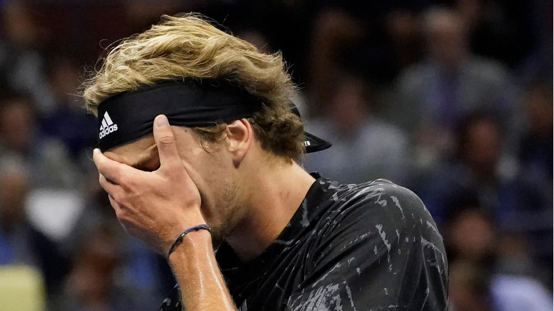 Zverev im Halbfinale der US Open