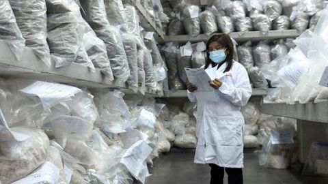Drogenfund in Peru