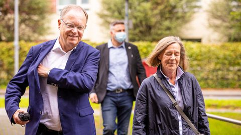 Kommunalwahlen in Niedersachsen – Ministerpräsident Stephan Weil (SPD)