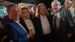 Nach Triell - Laschet mi Uschi Glas, Leslie Mandoki, Bernhard Vogel