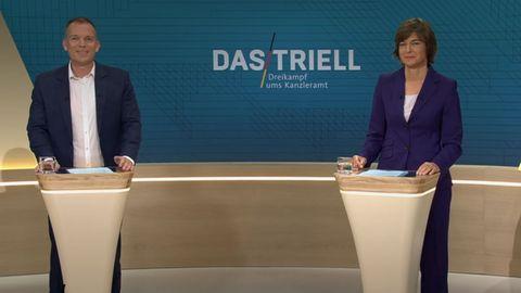 Triell Moderatoren Illner Köhr