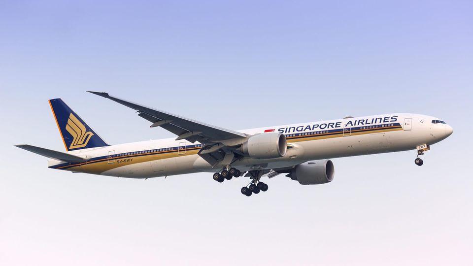 Boeing 777-300 von Singapore Airlines