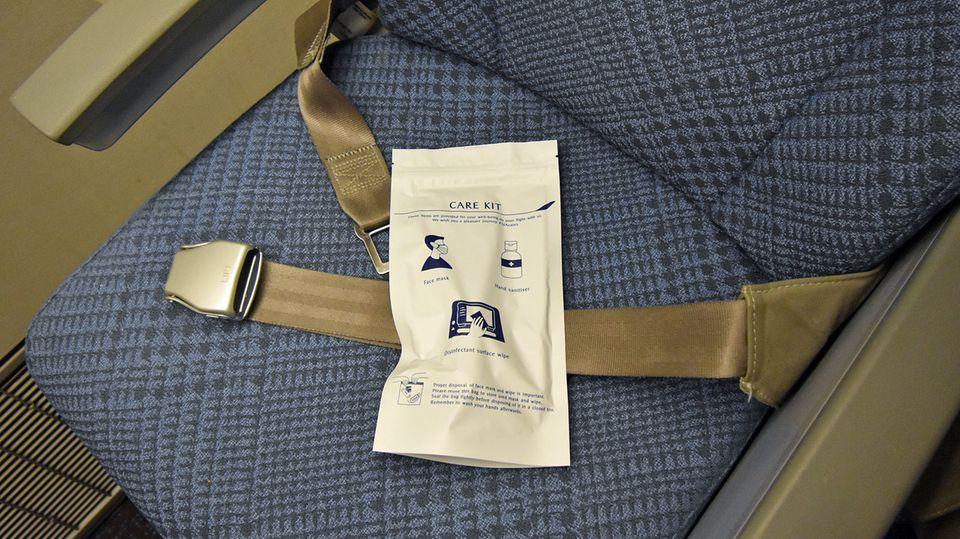 Care Kit von Singapore Airlines