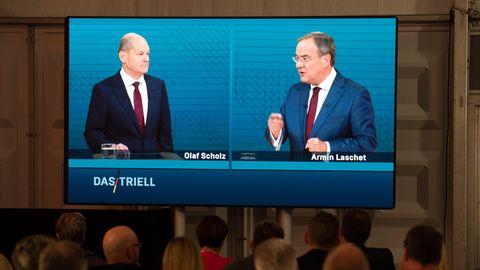 Scholz Laschet Triell