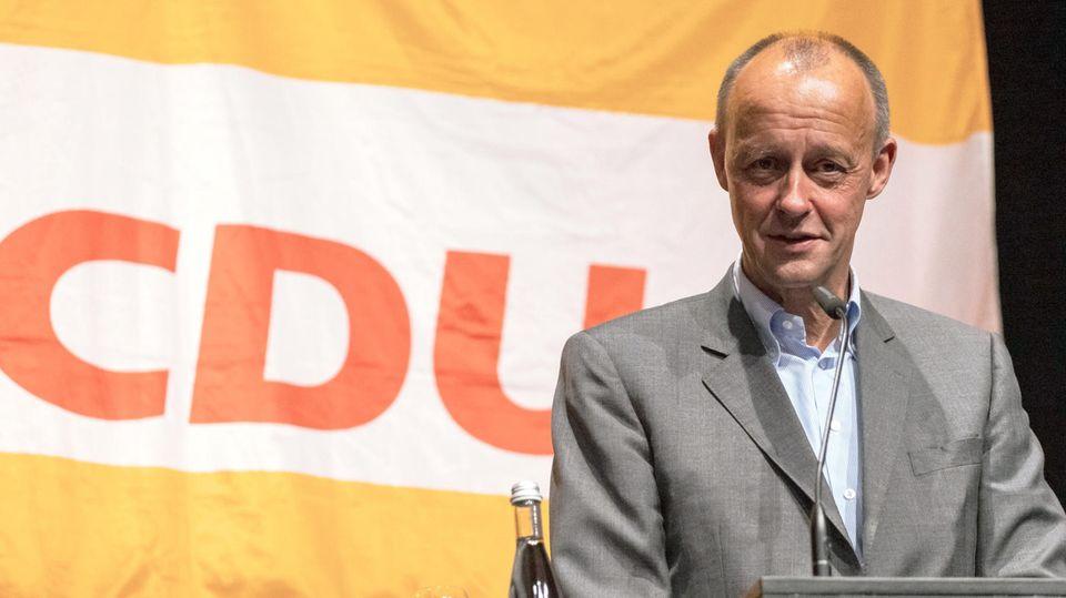 Friedrich Merz steht in der CDU für wirtschaftliche Kompetenz