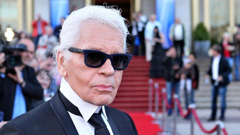 Karl Lagerfeld starb 2019 im Alter von 85 Jahren