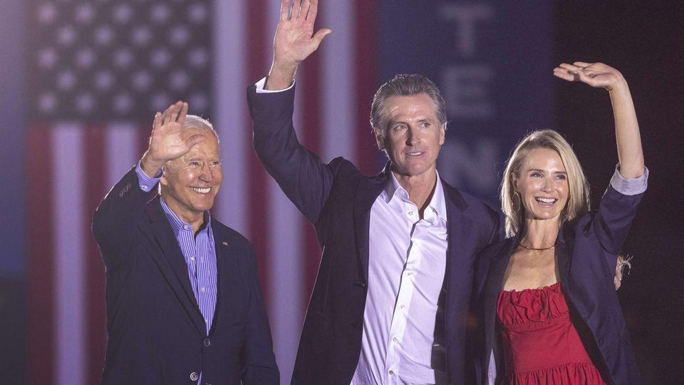 Recall Kalifornien Biden Newsom
