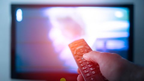 Ein Fernsehgerät
