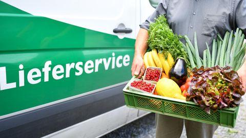 Die Online-Bestellung von Lebensmittel des täglichen Bedarfs wurde während der Pandemie immer beliebter.
