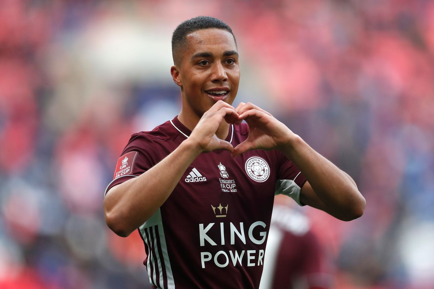 Youri Tielemans joie finale FA Cup
