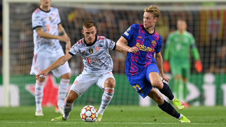Joshua Kimmich FC Barcelona FC Bayern 2021